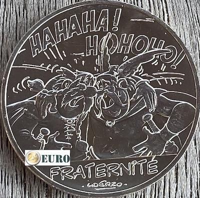 10 euro France 2015 - Asterix fraternité in Belgium