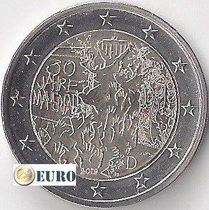 2 euro Germany 2019 - D Berlin Wall UNC