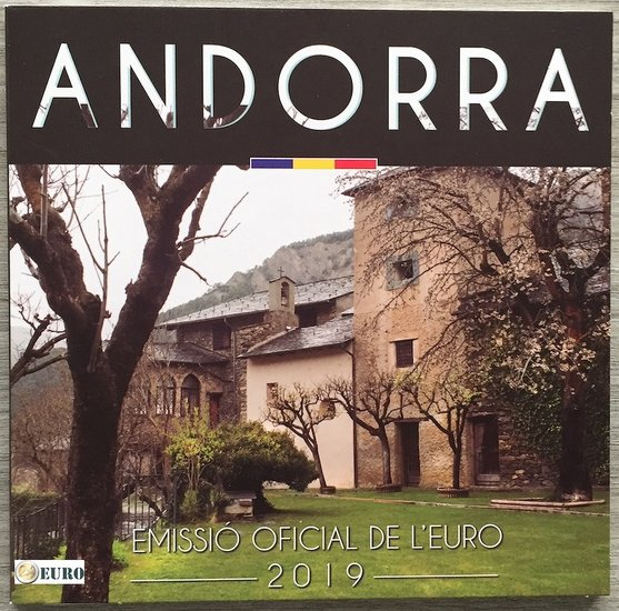 Euro set BU FDC Andorra 2019