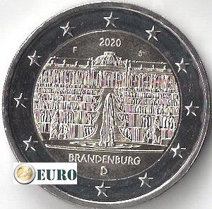 2 euro Germany 2020 - F Brandenburg UNC