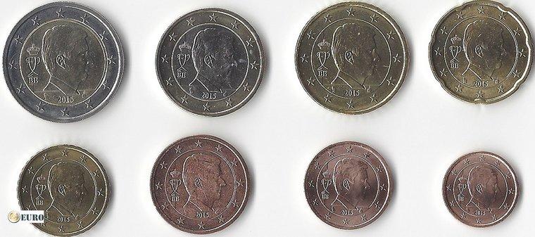 Euro set UNC Belgium 2016
