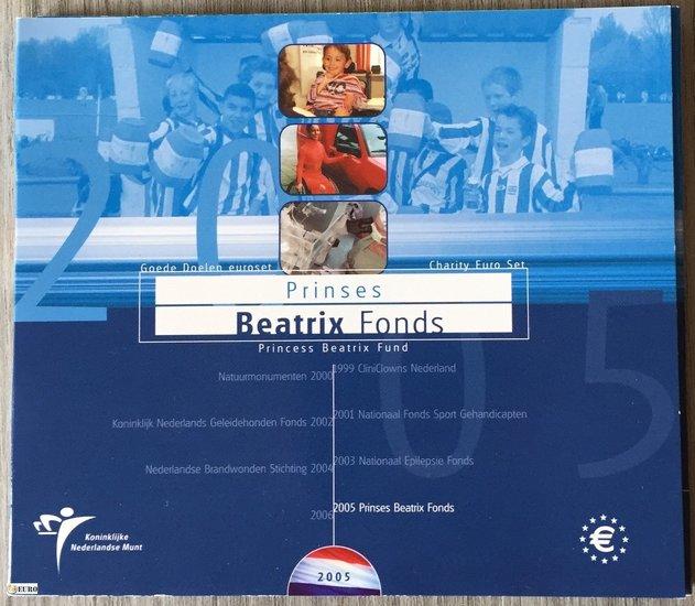 Euro set BU FDC Netherlands 2005 Beatrix Fonds