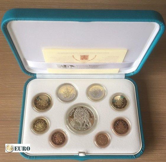 Euro set BE Proof Vatican 2019 + 20 euro silver