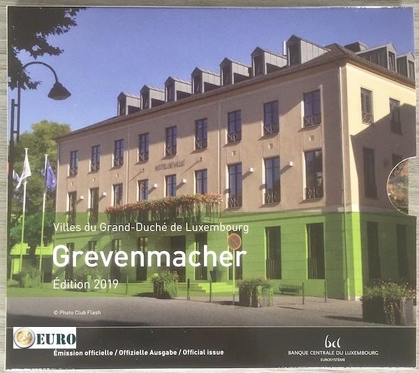 Euro set BU FDC Luxembourg 2019 Grevenmacher + 2 euro Charlotte