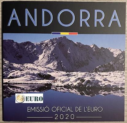 Euro set BU FDC Andorra 2020