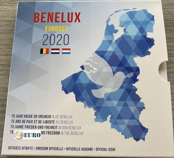 Euro set BU FDC Benelux 2020 Peace Europe