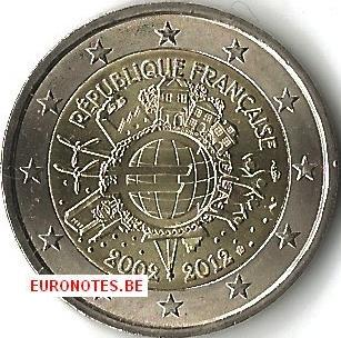 France 2012 - 2 euro 10 years euro UNC