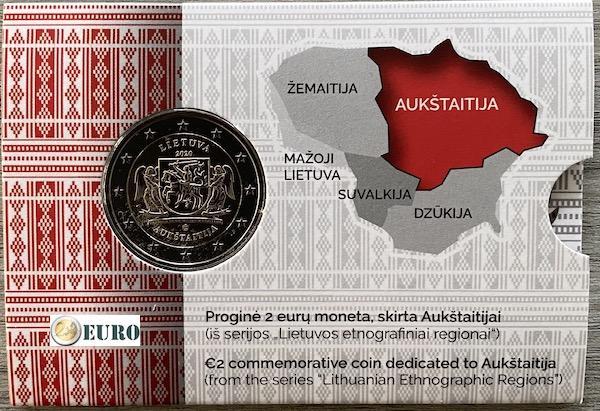 Euro set BU FDC Slovakia 2020 - Jozef Maximilian Petzval