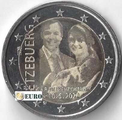 2 euro Luxembourg 2020 - Birth of Charles of Luxembourg UNC photo