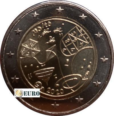 2 euro Malta 2020 - Games UNC mint mark MdP