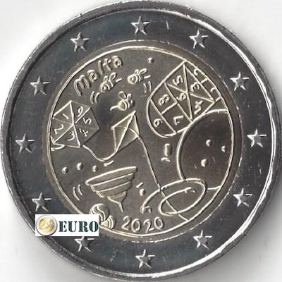 2 euro Malta 2020 - Games UNC