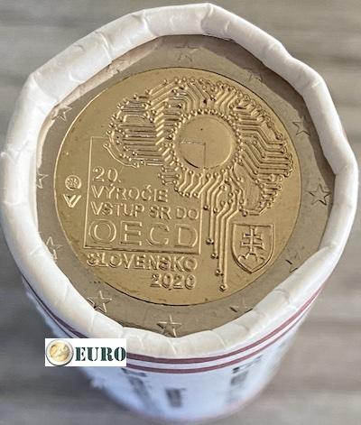 Roll 2 euro Slovakia 2020 - Accession to the OECD