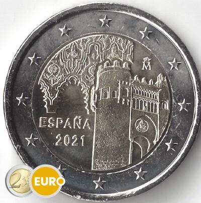 2 euro Spain 2021 - Old town of Toledo UNC