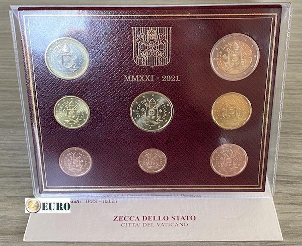 Euro set BU FDC Vatican 2021