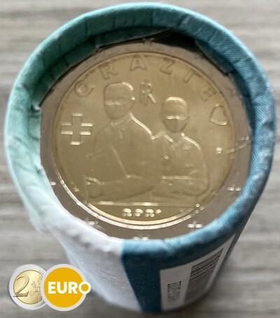 Roll 2 euro Italy 2021 - Grazie Health care