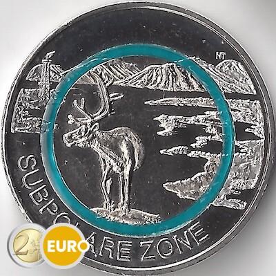 5 euro Germany 2020 - Subpolar Zone UNC