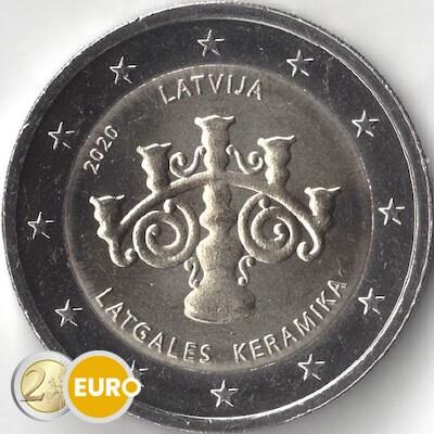 2 euro Latvia 2020 - Latvian ceramics UNC