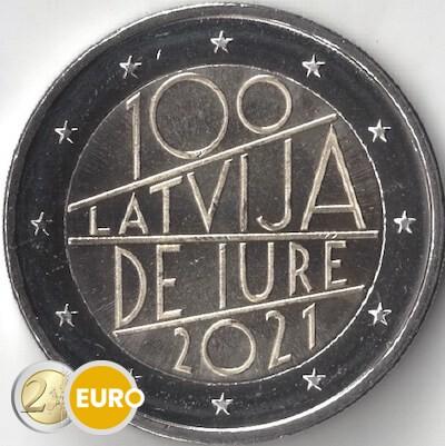 2 euro Latvia 2021 - International Recognition UNC